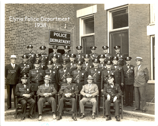 Elyria Police Department  1938