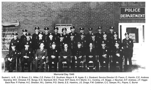 Elyria Police Department  1946