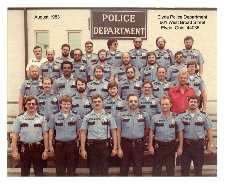 Elyria Police Department  1983