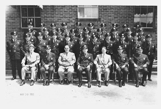 Elyria Police Department  1952