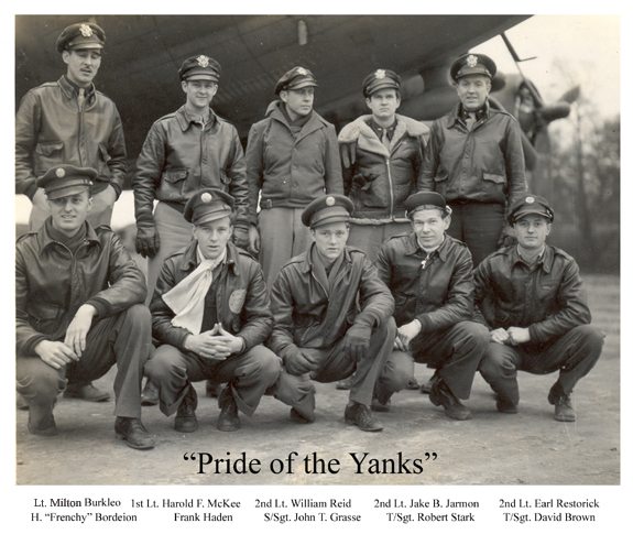 Pride of the Yanks Crew