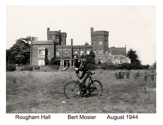 Bert Mosier  Rougham Hall