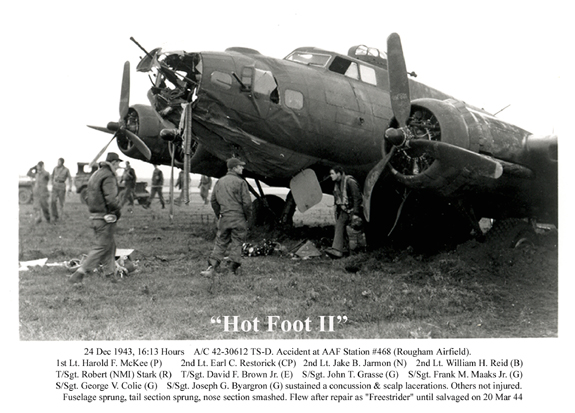 """Hot Foot II""  333rd Bomb Squadron, 94th Bomb Group (H) AAF"